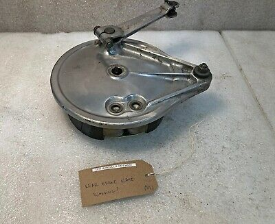 1979 Honda CX500 CX 500 C Custom rear drum brake plate. Working!
