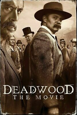 239663 Deadwood The Movie Daniel Minahan 2019 Movie WALL PRINT POSTER US