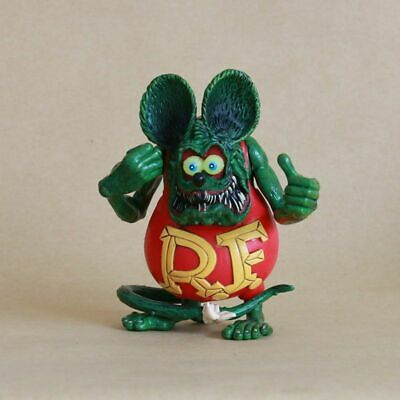 4'' Red Rat Fink Big Daddy Ed Roth Action Figure Toy Statue Model Doll Kid Gift