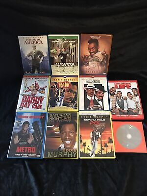 Harlem Nights DVD Blue Case Beverly Hills Cop 2 Eddie & Martin LIFE 4 Murphy Lot