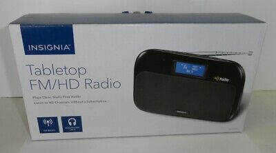 Insignia Tabletop FM/HD Radio model- NS-HDRAD2