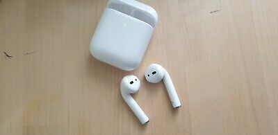 Apple Airpods (2nd generation)with charging  case Refurbished Clean Hyg 🎵🎶✅