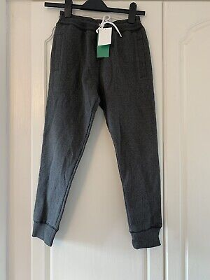 H&M Conscious Tracksuit Bottoms Grey. Age 10-11. Free Post