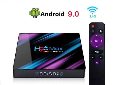 Box Android Multimédia 4GB+32GB WIFI Quad Core Lecteur Multimédia Smart TV BOX