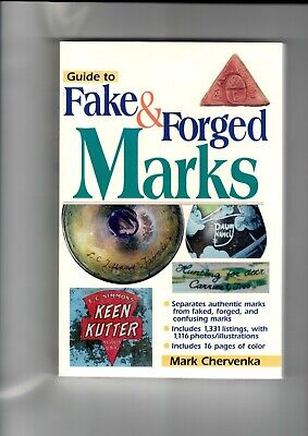 Schiffer Books Guide to Fake & Forged Marks 2002 Reference Book