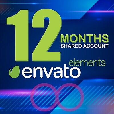 Envato Elements - 12 MONTHS LICENSE