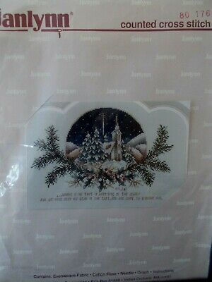 "Cross stitch Kit  "" Light of the World "" New by Janlynn"