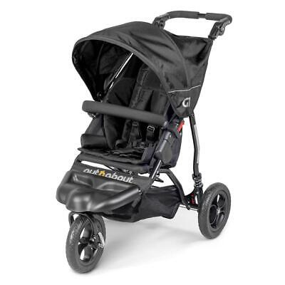 Out n About GT Single Baby Pushchair (Raven Black) - Suitable From Birth