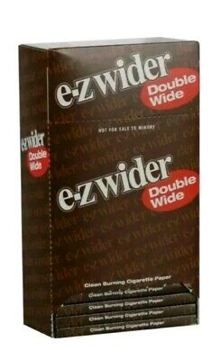 EZ-WIDER Double Rolling Papers 24 packs buy 10 get 1 free 🔥 🔥