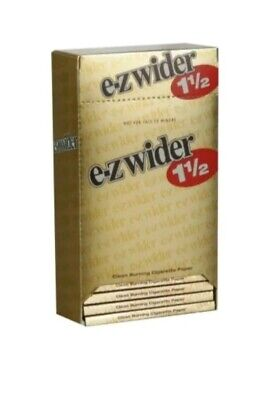 EZ-WIDER 1 1/2  Gold  Rolling Papers 24 packs buy 10 get 1 free 🔥 🔥