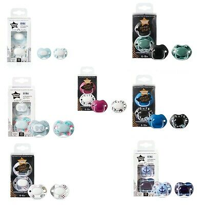 New Tommee Tippee Little London Pacifier's