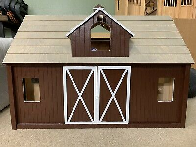Hand Painted Breyer Wooden Barn