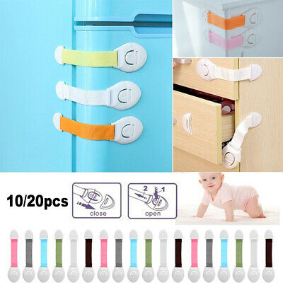 Refrigerator Door Stopper Window Cupboard Drawer Cabinet Lock Baby Safety