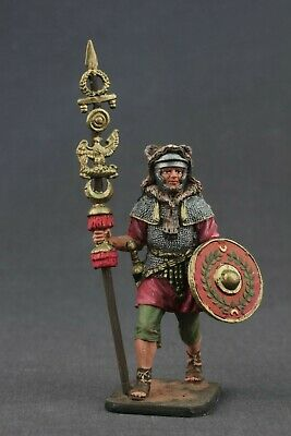 Rome Signifer in battle,lead soldier,unpainted,hand made,collectable,rare