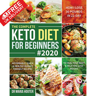 Keto Diet Book For Beginners Quick Healthy Ketogenic Recipes Cookbook 2020 NEW
