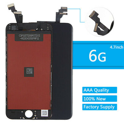 For iPhone 6 LCD Touch Digitizer Display Screen Replacement Assembly Black
