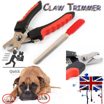 Nail Clippers Cat Dog Rabbit Sheep Pet Animal Claw Trimmer Grooming Large/Small