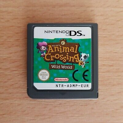 Animal Crossing Wild World Nintendo DS - tested and working Card