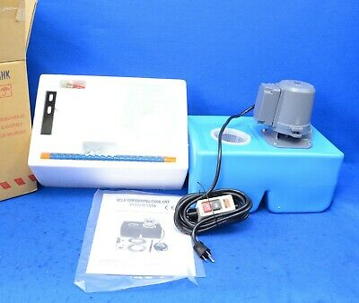 UE-9L General Purpose 1/8 HP Coolant Pump with Tank and Nozzle Assembly 110V