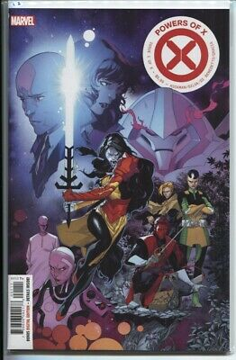 Powers Of X #1-6 Complete 6-Issue Set - All 1St Prints - Hickman