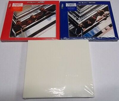 The Beatles - White Album + Red 1962-1966 & Blue 1967-1970. Remastered. ALL 3