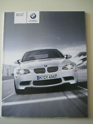 2008 BMW M3 Coupe Sedan Sales Brochure SMG 6-Speed Catalog Nice