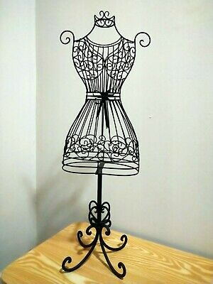Women Metal Black Wire Mannequin