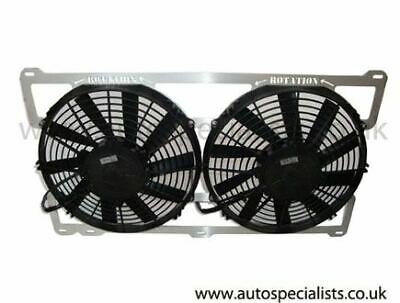 AIRTEC Cosworth Twin 11 inch Fans
