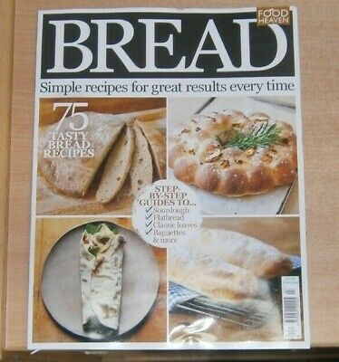 Food Heaven magazine Bread Special 2020 Sourdough Flatbread baguettes loaves