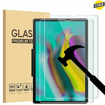 """2x For Samsung Galaxy Tab A 10.1"""" T510/T515 Tempered Glass Screen Protector 2019"""