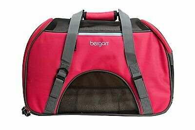 Bergan Comfort Carrier for Pets, Berry Charcoal, Large