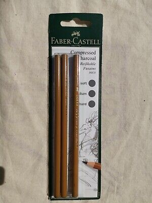Faber-Castell Compressed Charcoal Pencils