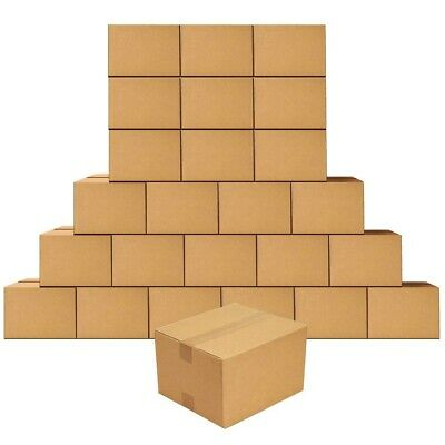 10x10x10 Corrugated Shipping Boxes - 50 Boxes/NEW