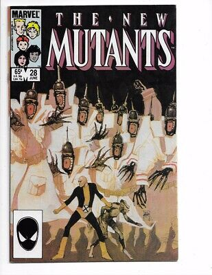 New Mutants #28 1st Series Bronze Age Marvel I combine Shipping!