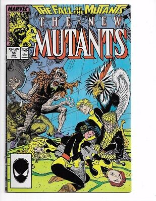 New Mutants #59 1st Series Bronze Age Marvel I combine Shipping!