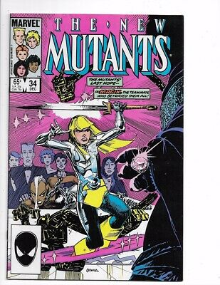New Mutants #34 1st Series Bronze Age Marvel I combine Shipping!