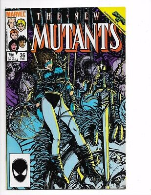 New Mutants #36 1st Series Bronze Age Marvel I combine Shipping!