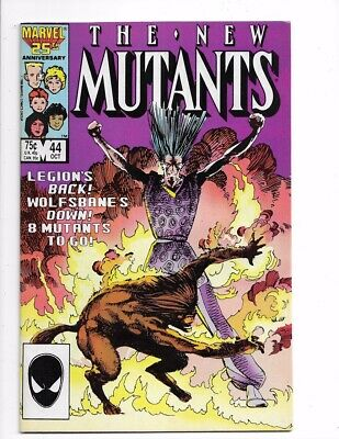 New Mutants #44 1st Series Bronze Age Marvel I combine Shipping!