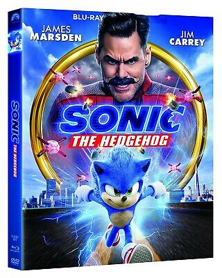 Sonic the Hedgehog Movie - (Blu-ray Disc, 2020) - Please Read