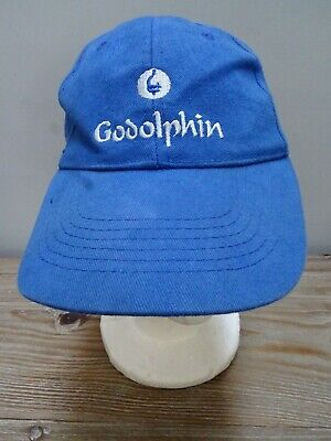 Genuine Goldophin Fly Emirates horse racing blue cap