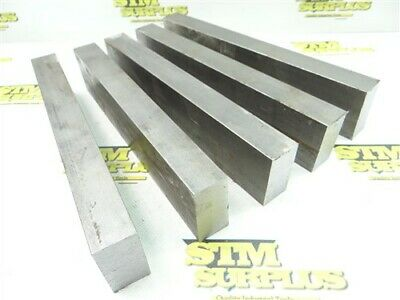 """28Lb Solid Steel Bar Stock 1"""" X 2"""" X 9-1/2"""" To 10"""" Lengths"""