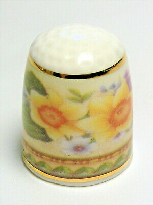 Fingerhut Thimble von Ayshford England - Country Garden