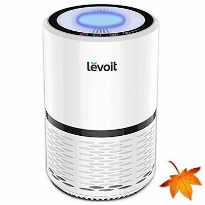 LEVOIT Air Purifier with True HEPA Filter, Active Carbon Filtration, Air Cleaner