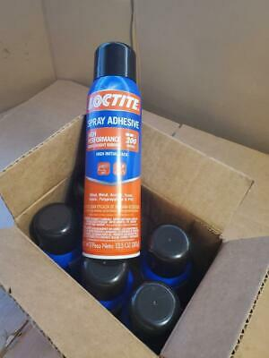 x6 Loctite High Performance Spray Adhesive Middleweight Bond 13.5 oz PER CAN ((