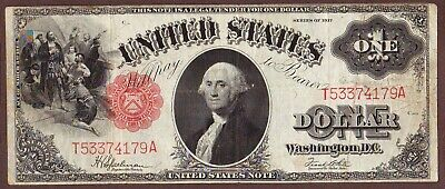 1917  $1  Legal Tender United States Note