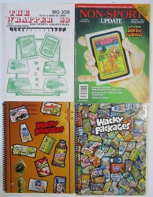 Wacky Packages Theme Book & Magazine The Wrapper #108 Non-Sport Update Vol.8 #1