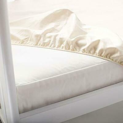 Naturepedic Waterproof Fitted Crib Pad Cover - White