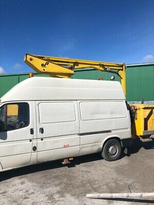 Ford transit cherry picker Petrol/LPG