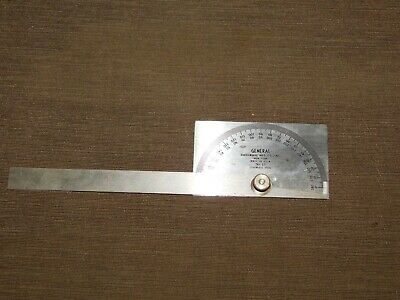 Vintage Tool General Hardware Mfg. Co. No. 17 Machinist Protractor