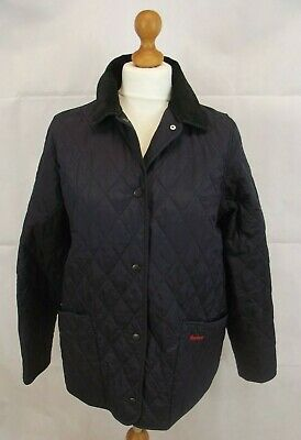 Barbour Navy Quilted Liberty Jacket Age 14-15